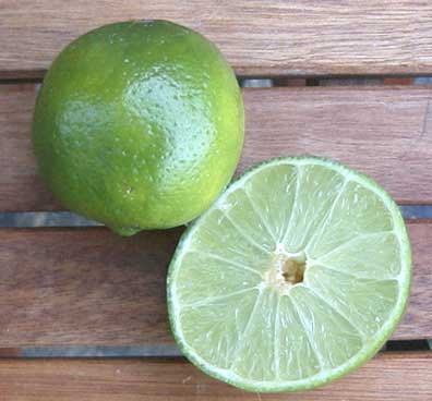 Lime och chilimajo